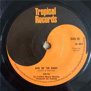 Edith & Sir Collins Music Wheels, Mickey & Sir Collins Music Wheels - Give Me The Right / Riot - Riot Album